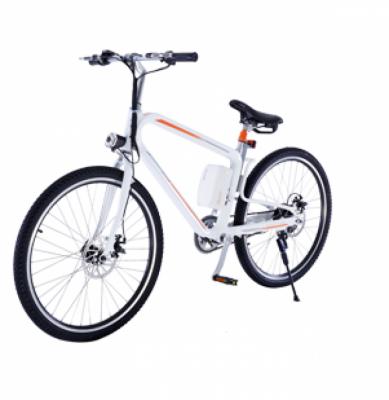 Bicicleta electrica Airwheel R8 White Viteza max. 20km/h Putere motor 235W Baterie LG 214.6Wh/36V
