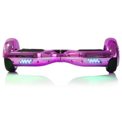 Hoverboard Koowheel S36 Purple Chrome 6 5 inch