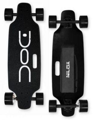 Skateboard electric Nilox DOC PLUS (Negru)