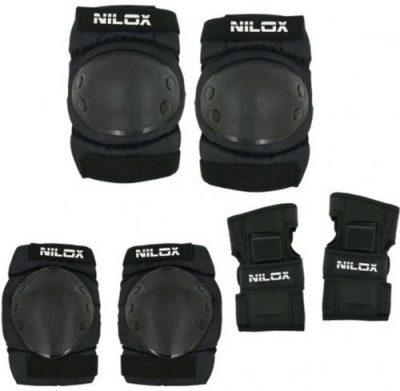 Echipament Protectie Adult Nilox DOC 30NXKIMOSE001 (Negru)