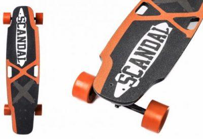 Skateboard Electric Pegas SCNDL-P-L2D-G (Negru/Portocaliu)