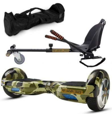 Pachet Scooter electric (hoverboard) MonkeyBoard Original MK-90 CAMOUFLAGE RIDER