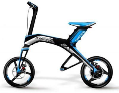 Bicicleta electrica Robstep X1 (Albastru)
