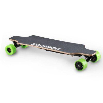 Skateboard Electric Koowheel D3M Green Viteza max. 40km/h Putere motor 2 x 250W Baterie LG 36V/4.4Ah