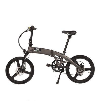 Bicicleta electrica pliabila Bizze Bikes Gri/Negru