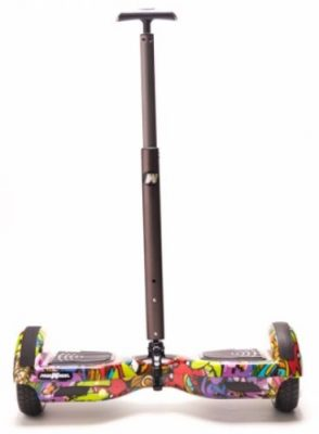 Maner Scooter electric Stick FreeWheel Assistant 110 Telescopic (Gri)
