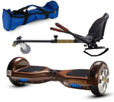Pachet Scooter electric (hoverboard) MonkeyBoard Original MK-42 Broller New