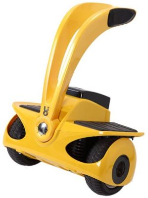 Scooter electric (hoverboard) Robstep Robin M1 ghidon scurt (Galben)